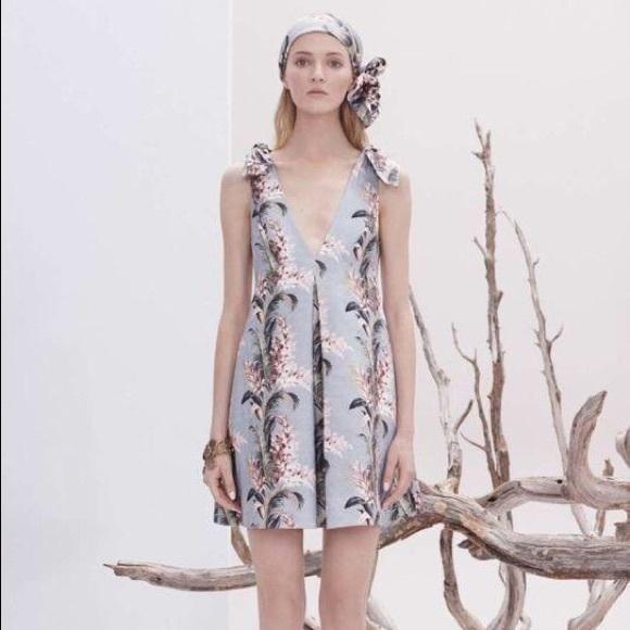f6ffb4aff538 Zimmerman Winsome Floral-Print Trapeze Dress
